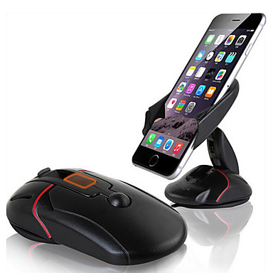 ZIQIAO Innovative Car Phone Holder Auto Cell Phone Holder Dashboard Windshield Mobile Phone Holder Mouse Stand Mount Support Rotatable