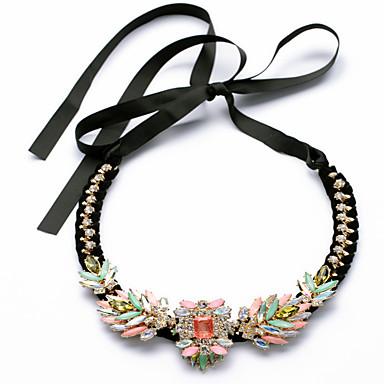 Damskie Pasemka Naszyjniki Flower Shape Unikalny Rainbow Biżuteria Na Codzienny 1szt