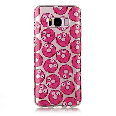 Etui Käyttötarkoitus Samsung Galaxy S8 Plus S8 IMD Läpinäkyvä Kuvio Takakuori Ruoka Pehmeä TPU varten S8 S8 Plus S7 edge S7 S6 edge S6 S5