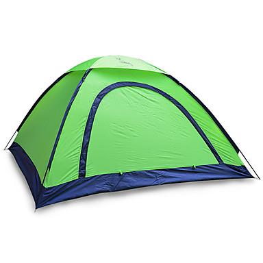 JUNGLEBOA® 2 الأشخاص خيمة الكاميرا منفرد خيمة التخييم غرفة واحدة طيةخيمة مكتشف الرطوبة مقاوم للماء المحمول إلى المشي لمسافات طويلة تخييم