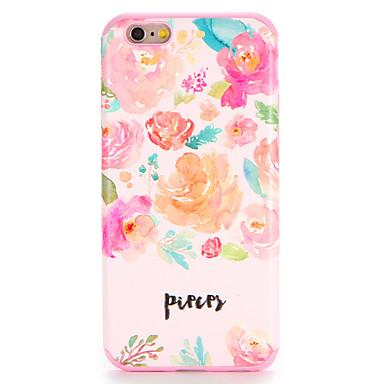 Für Apfel iphone 7 7plus Fallabdeckungsmuster rückseitige Abdeckungsfall Blume weiches tpu 6s plus 6 plus 6s 6