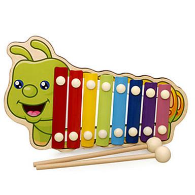 Ksilofon Oyuncaklar Eğlence Müzik Enstrimanlı Tahta Parçalar Unisex Hediye