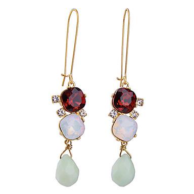 Κρίκοι Κρυστάλλινο Μοναδικό Εξατομικευόμενο Euramerican Κόκκινο Κοσμήματα Για Γάμου Πάρτι Γενέθλια 1 ζευγάρι