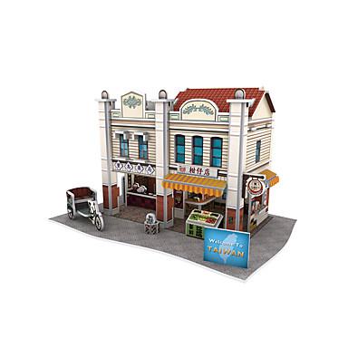 3D Yapbozlar Modely Oyuncaklar Çin Mimarisi Kağıt Çocuklar için 1 Parçalar