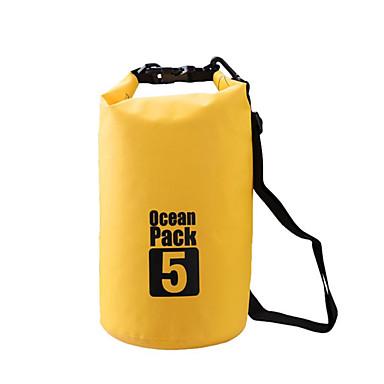 5 L Αδιάβροχη τσάντα Ξηρός Αδιάβροχη σανίδα Αδιάβροχη για Κατασκήνωση & Πεζοπορία Αναρρίχηση Κολύμβηση Παραλία