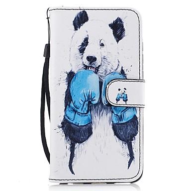غطاء من أجل هواوي الشرف 7 هواوي P9 لايت هواوي Y560 هواوي الشرف 5C Huawei حامل البطاقات محفظة مع حامل قلب نموذج غطاء كامل للجسم حيوان قاسي