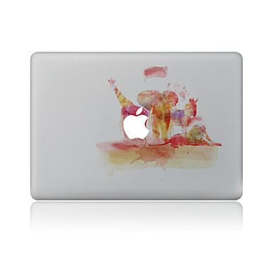 1 kpl Naarmunkestävä Öljymaalaus Läpinäkyvä muovi Tarrakalvo Kuviointi VartenMacBook Pro 15'' with Retina MacBook Pro 15 '' MacBook Pro