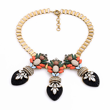 Kadın's Tellerinin Kolye Kristal Moda Kişiselleştirilmiş Euramerican Altın Mücevher Için Düğün Parti 1pc