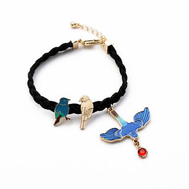 Naisten Amuletti-rannekorut Korut Muoti Metalliseos Animal Shape Vaalean sininen Korut Varten Häät Party 1kpl