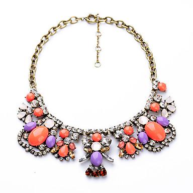Damskie Pasemka Naszyjniki Geometric Shape Osobiste Modny Rainbow Biżuteria Na Impreza Prezenty bożonarodzeniowe 1szt