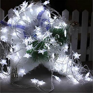 6W Leuchtgirlanden 7 AC220 10m 100 Leds Warmweiß Weiß RGB