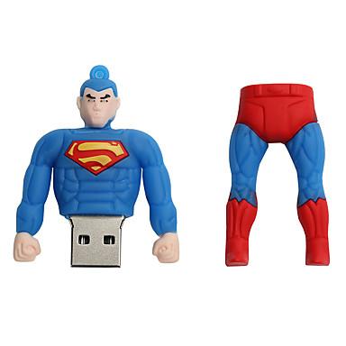 Nou desen animat superman usb 2.0 16GB flash drive u stick de memorie de disc