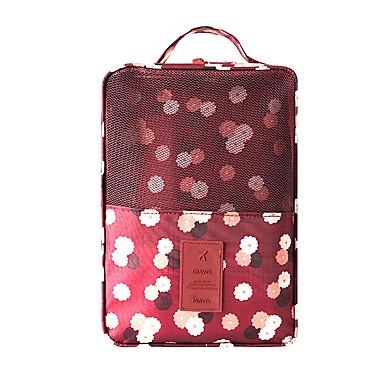 حقيبة سفر للأحذية منظم أغراض السفر مقاوم للماء المحمول تخزين السفر إلى أحذية ملابس نايلون / السفر