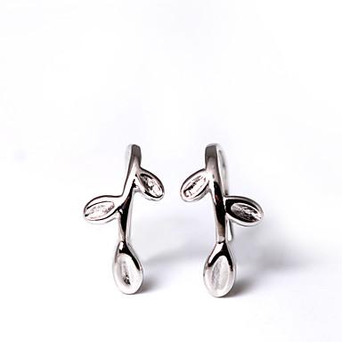 Vidali Küpeler Mücevher Euramerican minimalist tarzı Kişiselleştirilmiş Som Gümüş Gümüş Mücevher Için Düğün Parti Doğumgünü 1 çift