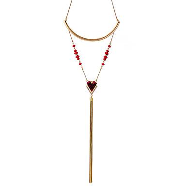 Pentru femei Coliere cu Pandativ Bijuterii Design Unic Franjuri Personalizat Bijuterii Pentru Casual