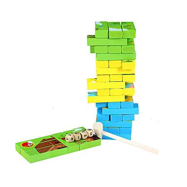 أحجار البناء ألعاب الطاولة تركيب ألعاب التخزين قطع تركيب الأبراج 1pcs مربع الحيوانات للأطفال ألعاب هدية