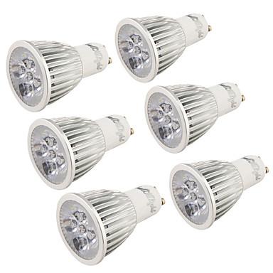 5W GU10 Lâmpadas de Foco de LED R63 5 leds LED de Alta Potência Decorativa Branco Quente Branco Frio 400-450lm 3000/6000K AC 220-240 AC