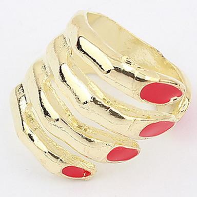 Bărbați Adorabil Aliaj Altele manşetă Ring / Inel / Band Ring - Personalizat / Design Unic / Stil Logo Rosu Inel Pentru Cadouri de