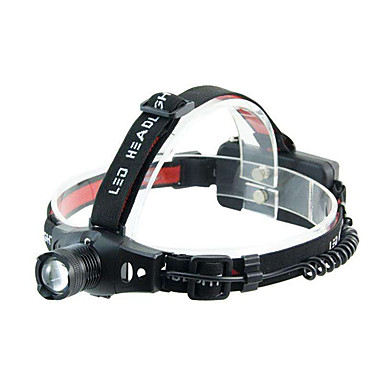 Frontale LED Focalizare Ajustabilă Dimensiune Compactă Foarte luminos Ciclism Pescuit Exterior