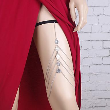 Pentru femei Bijuterii de corp Lănțișor Picior Aliaj Argintiu neregulat Boem Costum de bijuterii Pentru Casual Sport Vară