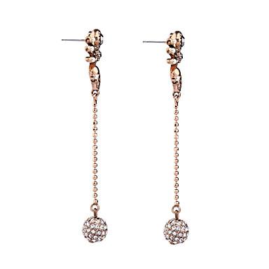 Κρίκοι Κρυστάλλινο Πεπαλαιωμένο Εξατομικευόμενο Euramerican Χρυσό Κοσμήματα Για Γάμου Πάρτι Γενέθλια 1 ζευγάρι