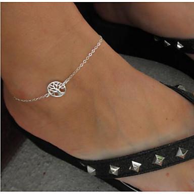 Kadın's Bacak Zincirleri alaşım Moda Hayat Ağacı Vücut Mücevheri Uyumluluk Günlük Kostüm takısı
