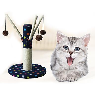 Jucărie Pisică Jucării Animale Interactiv Scratch Pad Durabil Lemn Pluș Pentru animale de companie