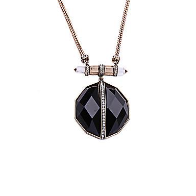 billige Mode Halskæde-Dame Onyx Strands halskæde Unikt design Euro-Amerikansk Sort Halskæder Smykker Til Julegaver Fest Gave