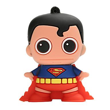 Νέα καρτούν δημιουργική superman usb2.0 16GB flash drive u μνήμη stick μνήμης