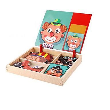 Puzzle Układanki z uchwytami Zabawki logiczne i układanki Zabawka edukacyjna Zabawki Kwadrat DIY Papierowy Dla dzieci 1 Sztuk