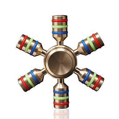 Spinner antistres mână Spinner Jucarii Șase Spinner Înaltă Viteză Stres și anxietate relief Birouri pentru birou Ameliorează ADD, ADHD,