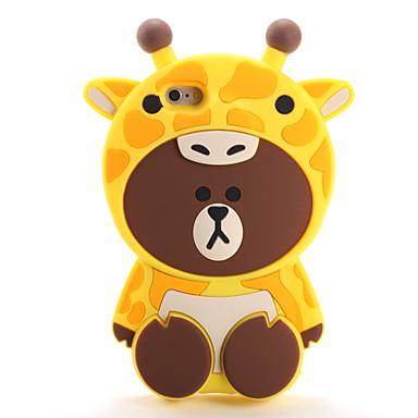 Pentru Carcase Huse Model Carcasă Spate Maska 3D desen animat Moale Silicon pentru AppleiPhone 7 Plus iPhone 7 iPhone 6s Plus iPhone 6