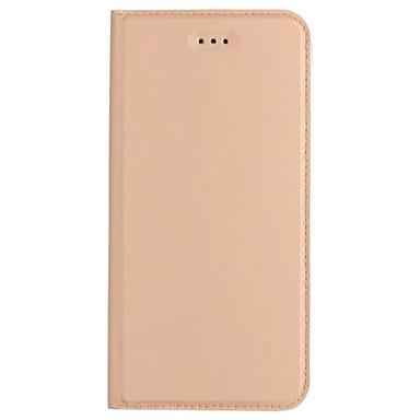 Maska Pentru Samsung Galaxy A5(2017) A3(2017) Titluar Card Cu Stand Întoarce Ultra subțire Carcasă Telefon Culoare solidă Greu PU piele