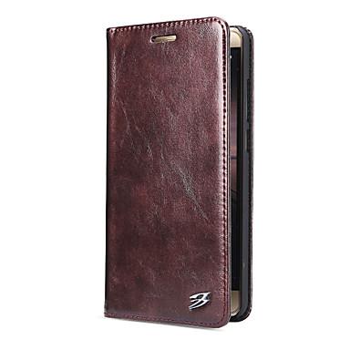 Etui Käyttötarkoitus Huawei Korttikotelo Tuella Flip Suojakuori Yhtenäinen väri Kova PU-nahka varten Mate 9 Mate 9 Pro Huawei