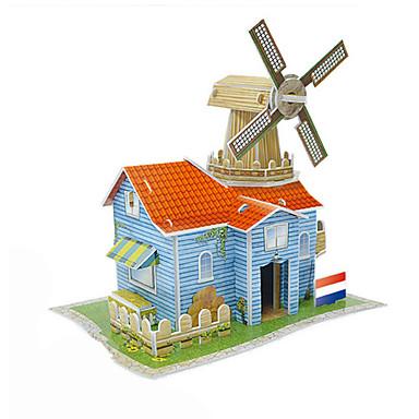 Spielzeug-Autos 3D - Puzzle Holzpuzzle Steckpuzzles Windmühle Spielzeuge Windmühle Holz Unisex Stücke