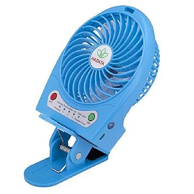 USB oplader mini ventilator, auto kantoor mini klem ventilator, hand-held ventilator 5v