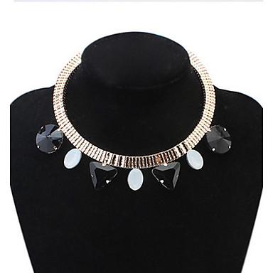 Pentru femei Coliere Choker Guler Coliere Bijuterii Heart Shape Bijuterii Reșină Aliaj Design Basic Ștrasuri Natură Prietenie DIY film