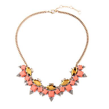 Damskie Pasemka Naszyjniki Słodkie Style Chrismas Różowy Biżuteria Na 1szt