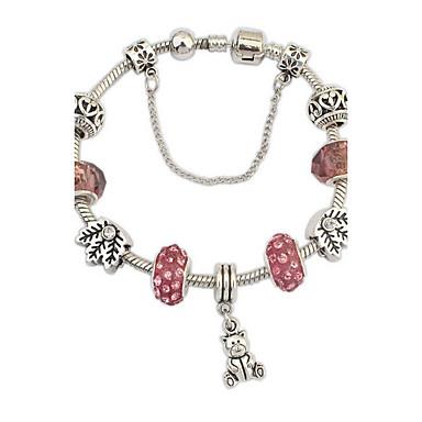 economico Bracciali-Per donna Bracciali a catena e maglie Di tendenza Gemme Gioielli braccialetto Rosso Per Feste Occasioni speciali Regalo