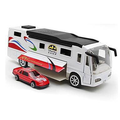 Jucării pentru mașini Jucarii Camion Jucarii Simulare Muzică și lumină Autobuz Camion Aliaj Metalic Bucăți Unisex Cadou