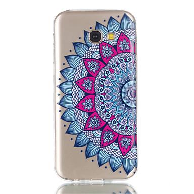 Maska Pentru Samsung Galaxy A5(2017) A3(2017) Transparent Model Carcasă Spate Mandala Moale TPU pentru A3 (2017) A5 (2017)