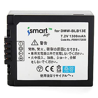 Ismartdigi blb13 7.2v 1300mah camera pentru baterii pentru panasonic dmc- gf1 g1 gh1 g2 g10