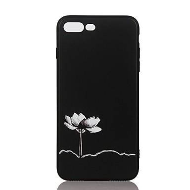 من أجل أغط / كفرات مطرز نموذج غطاء خلفي غطاء زهور ناعم TPU إلى Apple فون 7 زائد فون 7 iPhone 6s Plus iPhone 6 Plus iPhone 6s أيفون 6