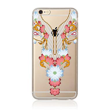 Hoesje voor iphone 7 7 plus bloemenpatroon tpu zachte achterkant voor iphone 6 plus 6s plus iphone 5 se 5s 5c 4s