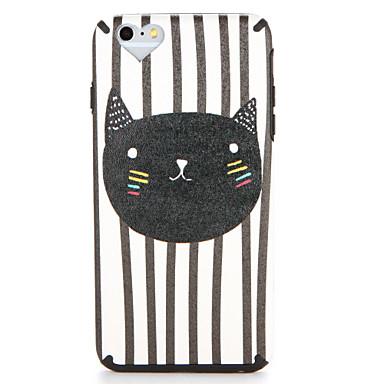 Voor apple iphone 7 7plus case cover patroon achterkant hoesje kat cartoon soft tpu 6s plus 6 plus 6s 6