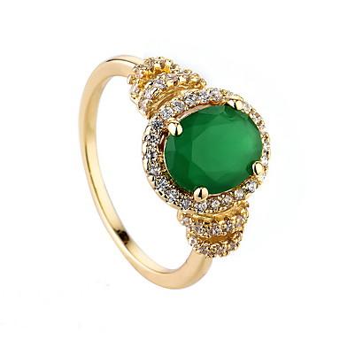 للمرأة خاتم زمردي تصميم فريد euramerican في موضة زمردي سبيكة مجوهرات مجوهرات من أجل زفاف مناسبة خاصة
