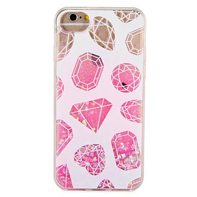 Caz pentru Apple iPhone 7 7 plus model geometric strălucire strălucire curge model lichid greu pc 6s plus 6 plus 6s 6