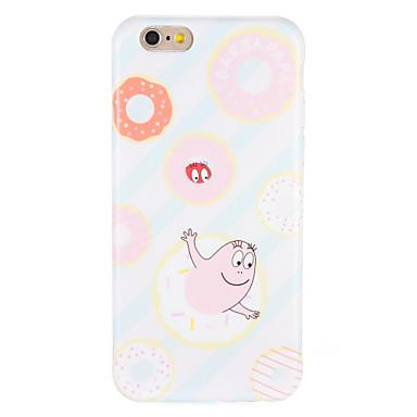 Case voor apple iphone7 7 plus cartoon imd patroon soft tpu 6s plus 6 plus 6s 6