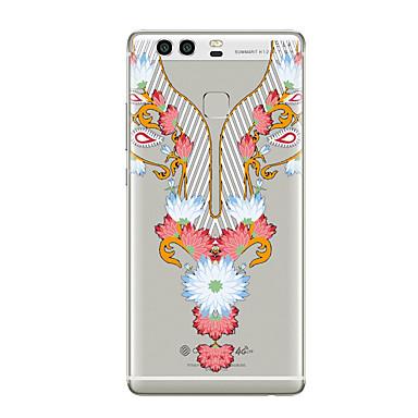 hoesje Voor Huawei P9 Huawei P9 Lite Huawei P8 Huawei Huawei P9 Plus Huawei P8 Lite Huawei Mate 8 Transparant Patroon Achterkant Lace