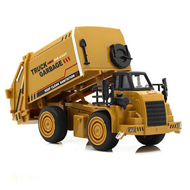 Excavator شاحنة الصرف الصحي لعبة الشاحنات ومركبات البناء لعبة سيارات سيارات الصب سبيكة معدنية ABS للجنسين للأطفال ألعاب هدية